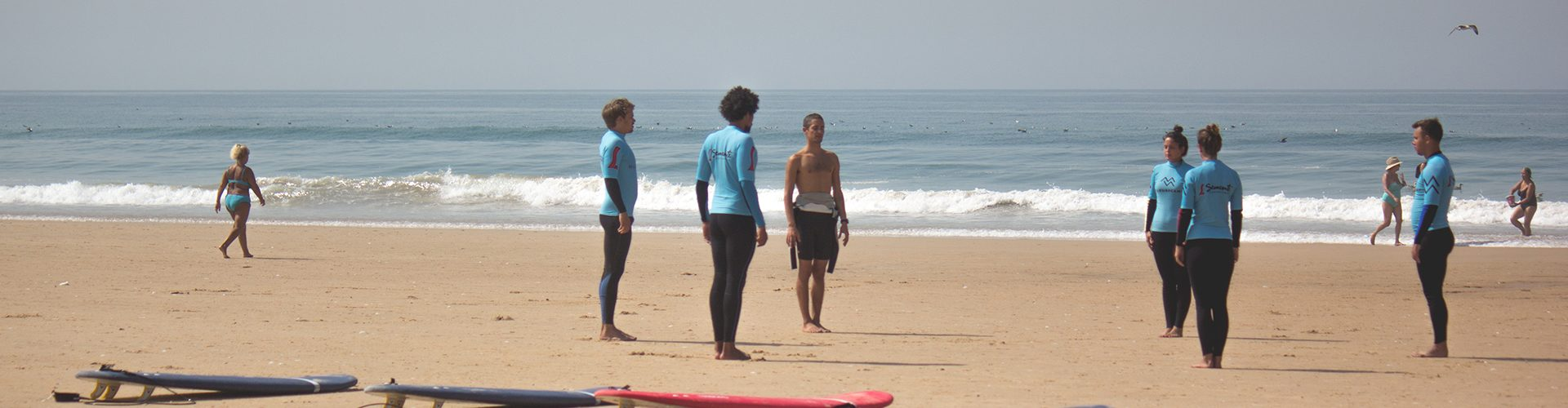 Surf Course in Portugal