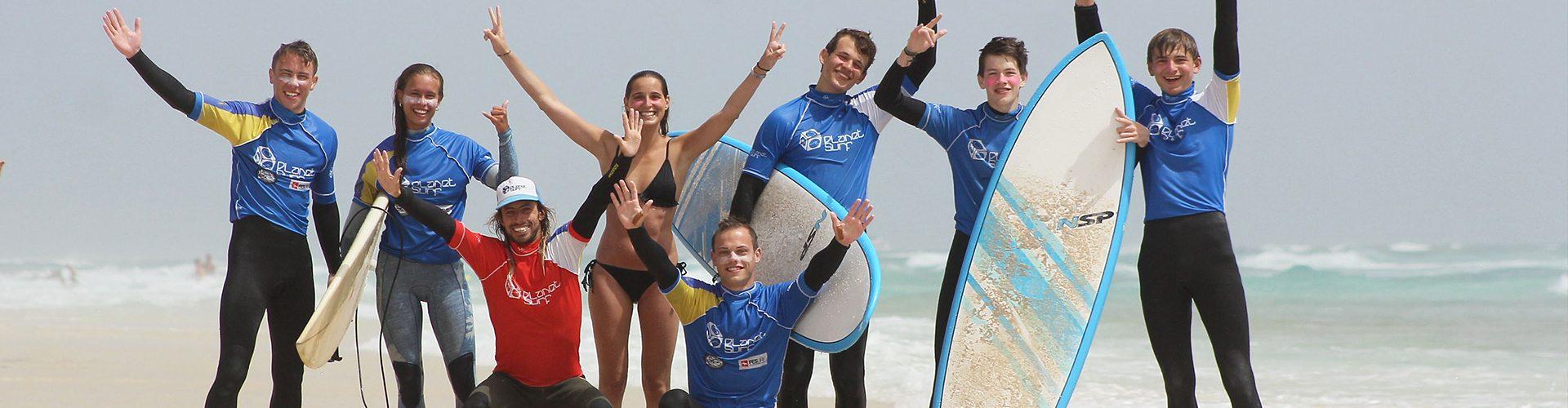 the best surf spots at Fuerteventura