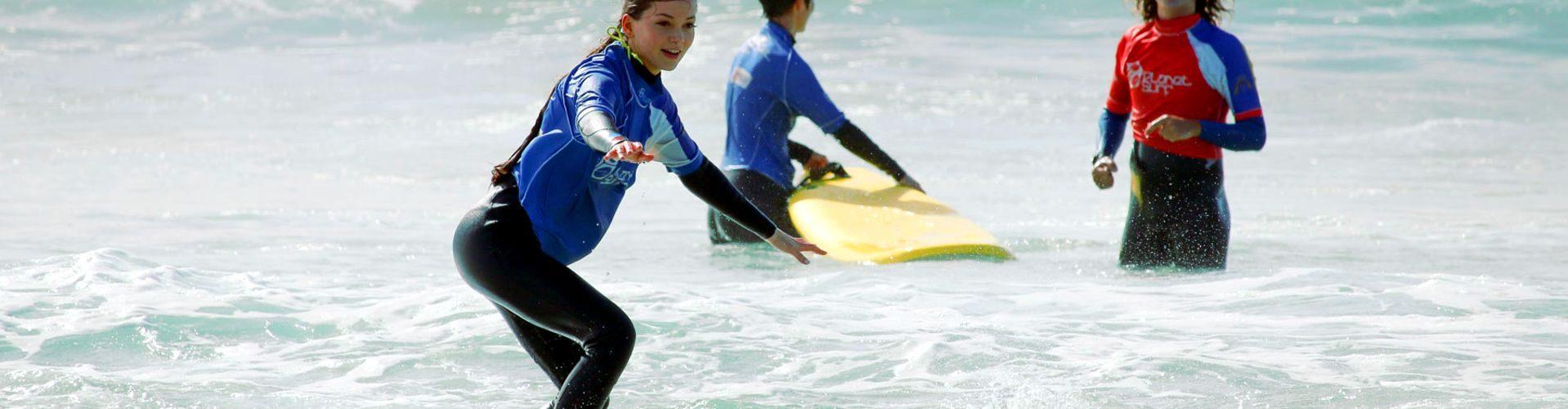 Surf lessons in Vieux Boucau
