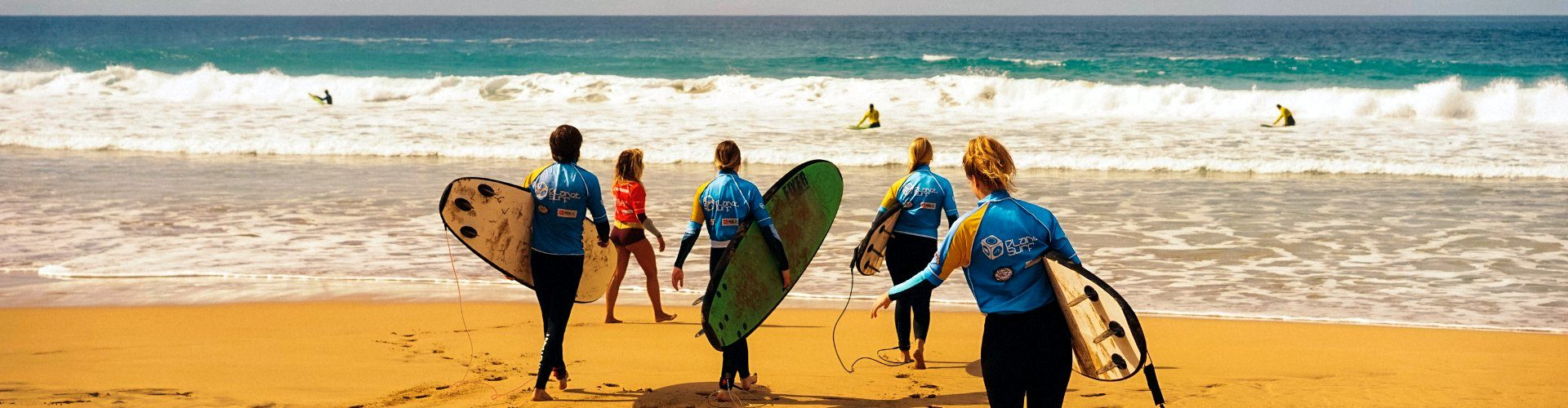 Surf school in Canary Islands