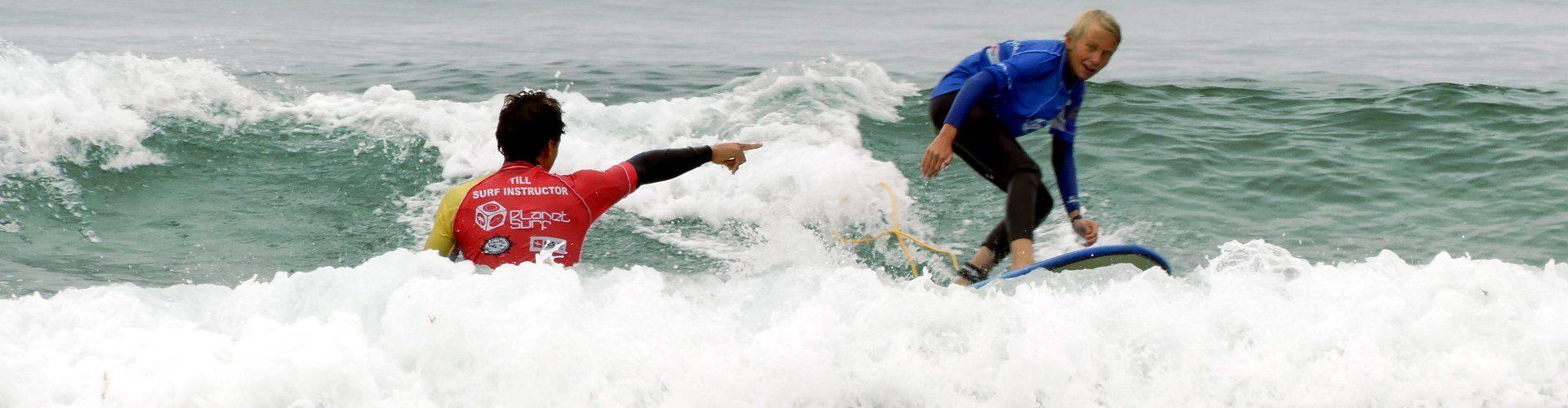 Surf school Junior Spain