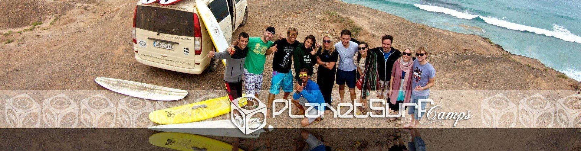 Planet Surf after course in Canary Islands