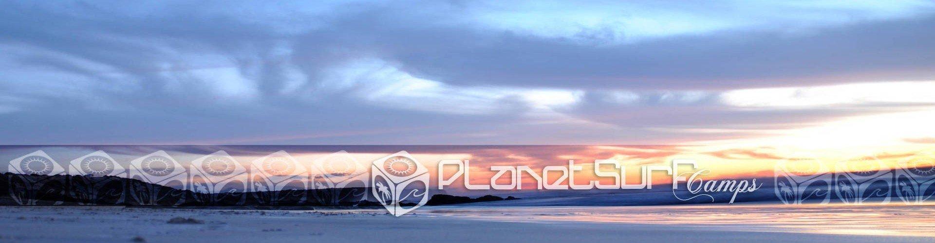 Dawn from surfing spot Fuerteventura