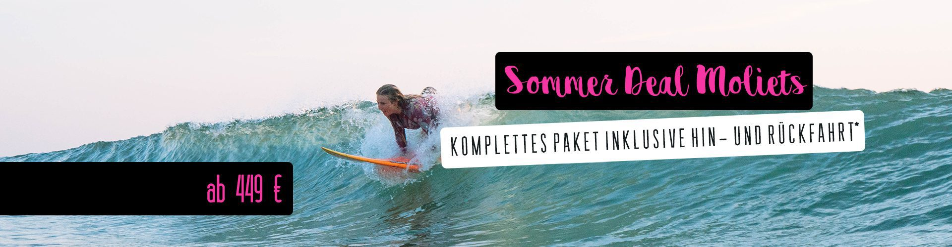 Surf Camp Moliets - Surf all day and Party all night
