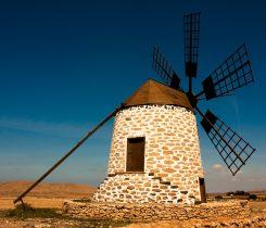 Iconic Windmills in Fuerteventura