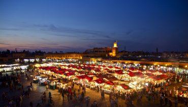 Souk Market in Marrakesh