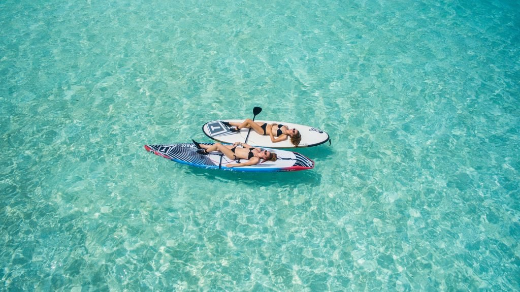 Paddle, Relax, Paddle, Relax..