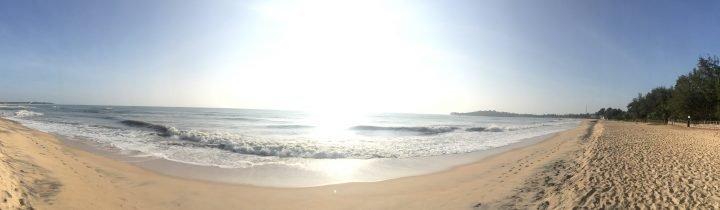 Panorama von Arugam Bay