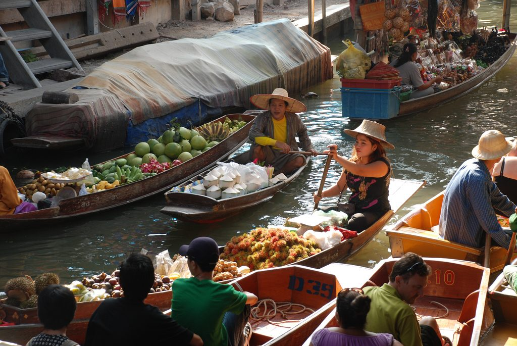 The Floating Markets